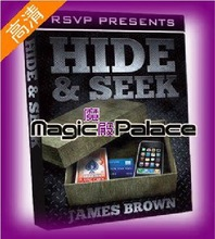 magic teaching video,Hide & Seek by James Brown(China (Mainland))