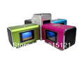 Portable Mini Rechargeable USB TF Card Speaker MP3 Music Sound Box w/ FM Radio(China (Mainland))