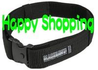 Military style BlackHawk nylon webbing belt Black free shipping