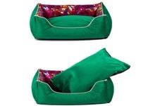 2013 Latest Desin Luxury Silk Cloth Plush Warm Dog Kennel Free Shipping