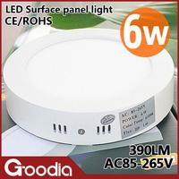 6W LED ceiling light round kitchen lamp AC85~265V Cool white/warm white CE&ROHS 30pcs modern led ceiling lights for living room