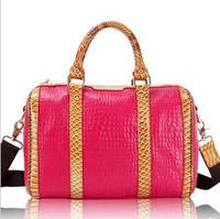Cowhide Ladies Tote Bag/ Genuine Leather Women's Handbag/ Luxury Fashion Cross Body Bag