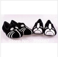 2013 new fashion flat shoes mj personality the cat dog velvet flat comfortable women shoes