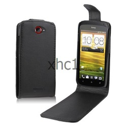 Mobile Phone Leather Case for HTC One S Z520eFree Shipping(China (Mainland))