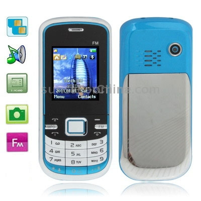 E16 Blue, Bluetooth FM function Mobile Phone with Metal Back Cover, Dual sim cards, Dual band, Network: GSM900 / 1800MHZ(China (Mainland))