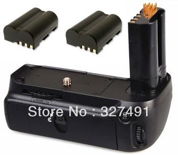 Free Shipping. MB-D80 MBD80 Battery Grip+2x EN-EL3E Batteries for Nikon D80 D90 Digital SLR Cameras.