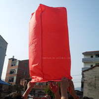100% biodegradable flying paper lantern