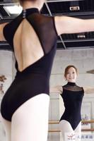 Ballet dance clothes female adult ballet dance leotard ballet bodysuit one piece leotard
