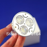 replacement 50W normal one GU10 / E27 / E14 / GU5.3 Rotundity CREE Light 9W 3x3W dimmable High power Spotlight LED Bulb Lamp