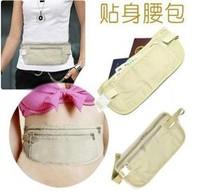 Free Shipping womens wallets Travel Security Money Ticket Passport Holder waist packs Belt purse bag .24
