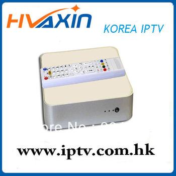 South Korea IPTV HDTV network TV STB [LIVE Korea TV]free shipping