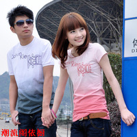 2013 t blood summer lovers t-shirt lovers short-sleeve t print short-sleeve t-shirt lovers male t blood