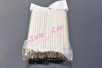 [ Retail ] 100pcs x 11.2cm Orange Wood Sticks Nail Art Care Salon Cuticle Pusher Remover Manicure Tool + Free Shipping