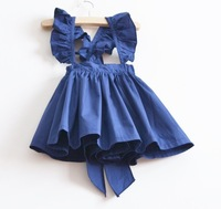 Free shipping 5pcs/lot 2013 kids fashion skirt Girls 100% cotton skirt with big bow skirt fresh and lovely