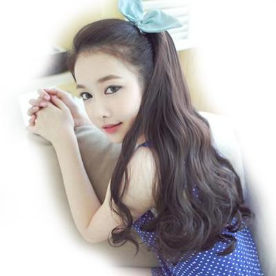 Wig horseshoers scroll claw clip pear hair wig piece short fluffy female(China (Mainland))