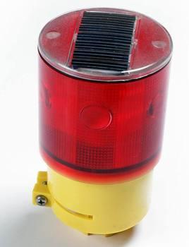 The MD9583R solar lights, lights, tower crane lights, tower cranes, bridges, traffic warning lights, barriers, LED