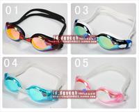 Sportz colorful chrome anti-uv anti-fog swimming goggles af s535 for v