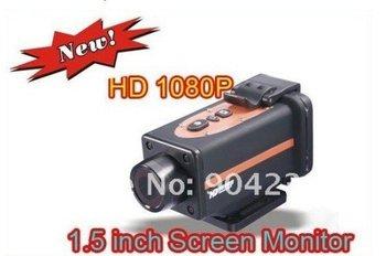 Waterproof Sport Helmet Action Camera Cam DVR HD 1080P 16 Mega pixels HDMI 1.5 inch TFT Screen FOR EMS Big discount