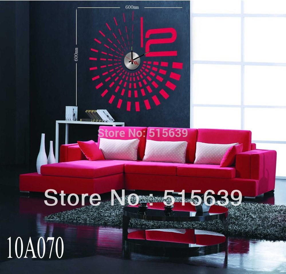 Aliexpresscom Buy DIY Stickers Wall Clock Creative