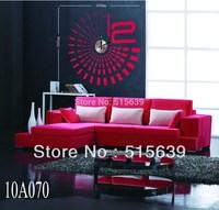DIY Stickers Wall Clock Creative Fashion Clocks Modern Designer Home Decor Mural Art  Abstract  Linging room 10A070