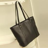 Hot New Western Style Women Ladies Croco Shoulder Bag Tote Bag Handbag Free Shipping