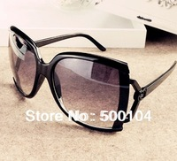 Free shipping cheap frog glasses fashion women sun glasses wholesale with sunglasses box