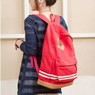 Hot Sell 2013 Casual Student Canvas School Backpacks Large Shoulder Bags(China (Mainland))