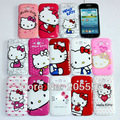10pcs/lot New Hello kitty Plastic Hard Back case For Samsung Galaxy Grand DUOS i9082 with retail + Free shipping