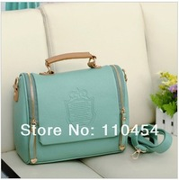 2013  handbags designers brand  women's PU Leather handbags single shoulder bag cross body bags for women messenger bag
