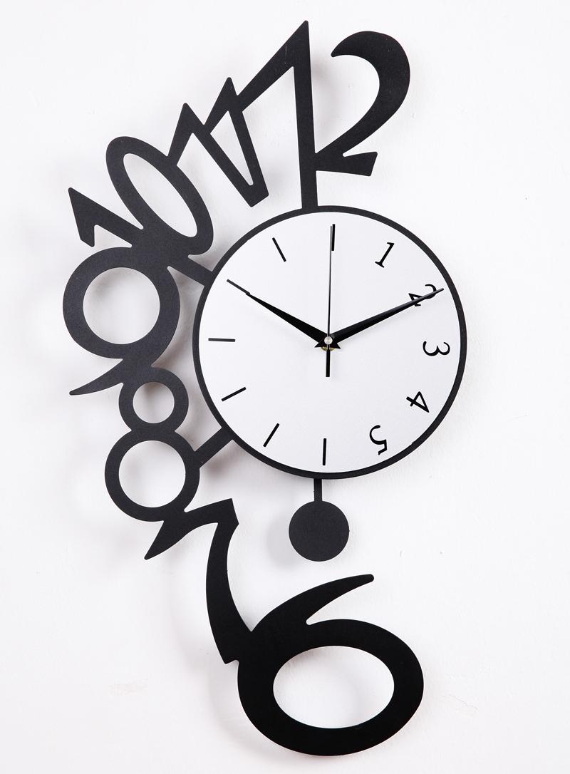 les horloges murales d coratives memes. Black Bedroom Furniture Sets. Home Design Ideas