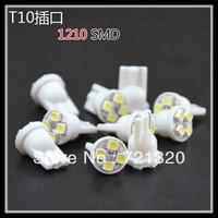 Free Shipping T10 194 168 1210 4SMD 4 LED high power LED light Bulbs white led car lights