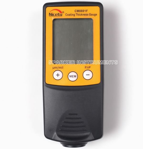 NEW CM8801F Digital Coating Thickness Gauge Paint Meter Tester 0-1250um/0-50mil(China (Mainland))