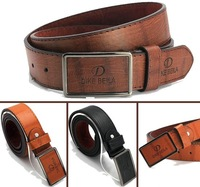 Free Shipping On Sale 2015 New Fashion Design Men's Belt cowhide + PU Straps High Quality 3 Colours