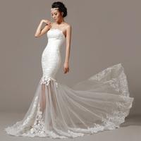 2013 New Arrival Sheath Custom Made Cheap Wedding Dress/Cheap Wedding Gown/Bridal Wedding Dress