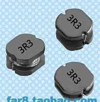 Free shiping 20PCS 5*5*4mm 3.3uH 3R3 SMD unshielded power inductors