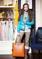 brand designer Bear t* w fashion ostrich PU one shoulder bag portable handbag women's handbag  ,free shipping