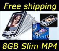 "2013 hot selling !!!16GB Slim 1.8""LCD MP4 FM Radio Player Video"