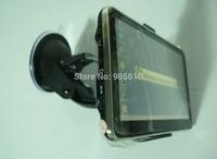 """5"""" GPS 4GB maps 128M DDR HD800*480 Slim car GPS navigation with Bluetooth FM AV IN free shipping"""
