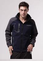Free shipping High Quality Men's Outdoor  Waterproof Climbing Outdoor Fleece Jackets Sportwear 1109