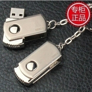 Usb flash drive 2g stainless steel rotating high speed business gift usb flash drive logo(China (Mainland))