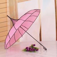 Dot hemming long-handled pagoda umbrella princess umbrella cake umbrella umbrella