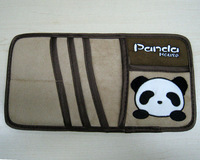 free shipping animal panda New arrival cartoon plush sun-shading board