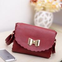 Small bow 2013 fresh bags vintage laciness bag sweet messenger bag
