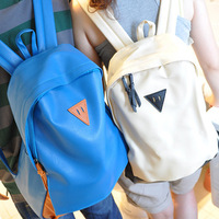 Bags 2013 trend preppy style lovers backpack middle school students school bag backpack women's handbag Free shipping