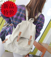 Large capacity 2013 lovers casual backpack chromophous canvas bag backpack male women's handbag student bag