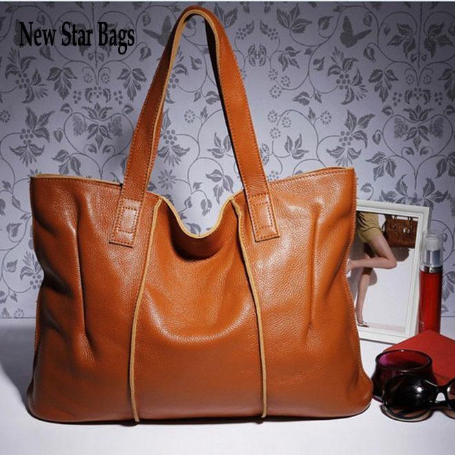 New Star Bags 2013 Hot Sell ! 100% Genuine Leather Bags Fashion Women Bag Designer Handbags Shoulder Bag Purses 7 Colors HL283(China (Mainland))