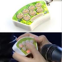 Portable mini pm126 play hamster game machine keychain 54g