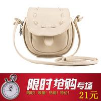 2013 women's summer handbag small bag vintage color block candy color transparent bags messenger bag fashion  .Free  shipping