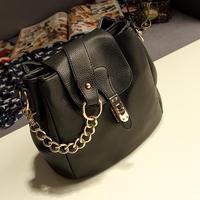Free shipping Vintage bucket bag 2013 shoulder bag cross-body bag small chain bag women's bags