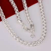 N083 Promotion! ,Men,Women, Chains 925 silver necklace, 925 silver fashion jewelry Chain  Necklace